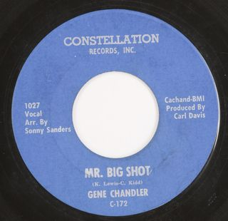 Gene Chandler Mr Big Shot