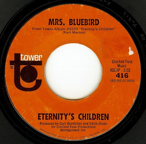 Eternity's children mrs. bluebird