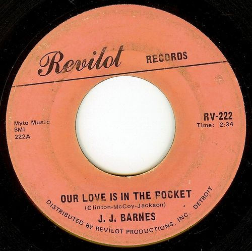 J.j. barnes our love is in the pocket
