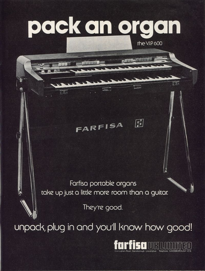 Farfisa - pack an Organ