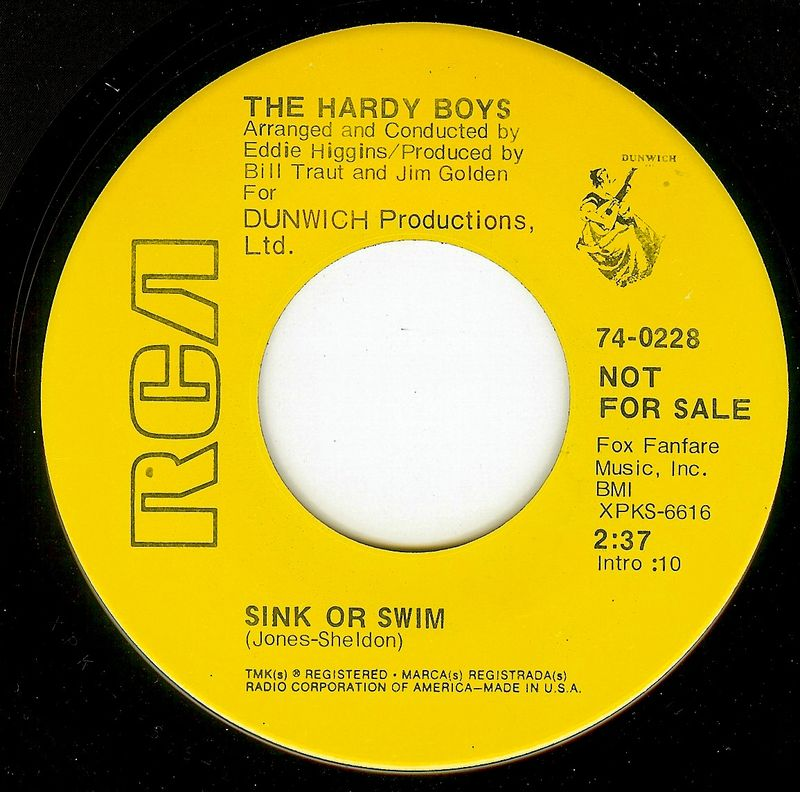 Hardy boys sink or swim