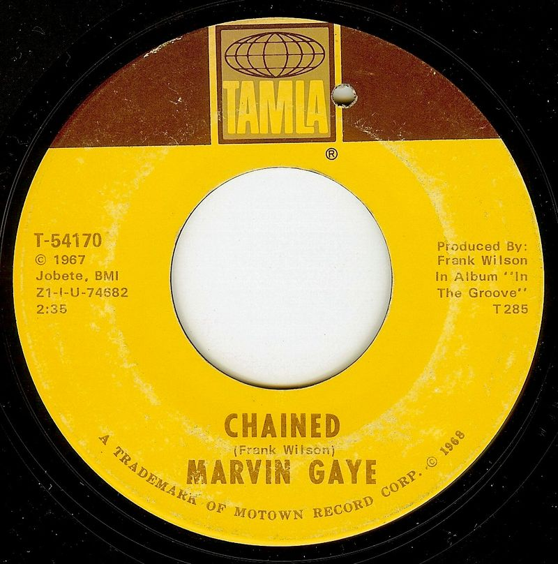 Marvin gaye chained