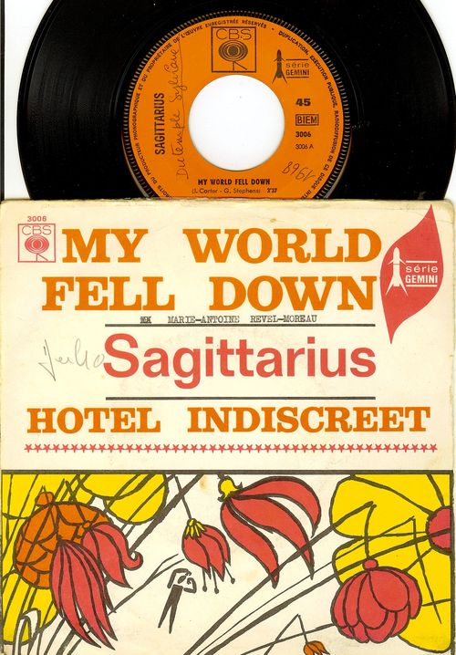 Sagittarius my world fell down