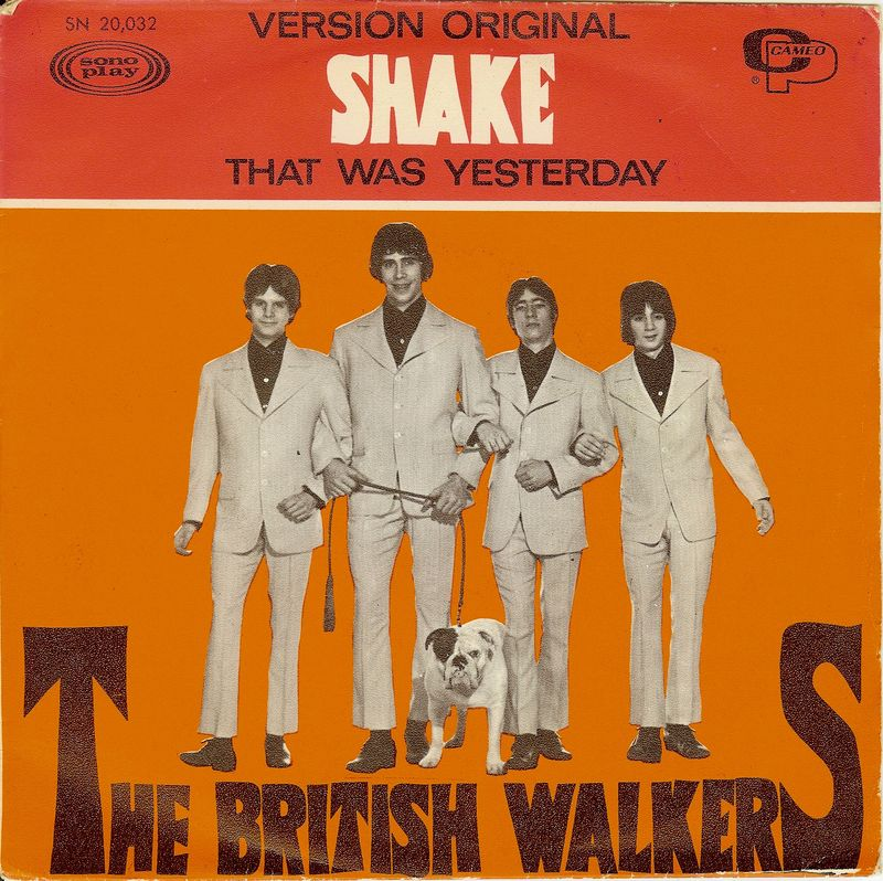 The british walkers shake