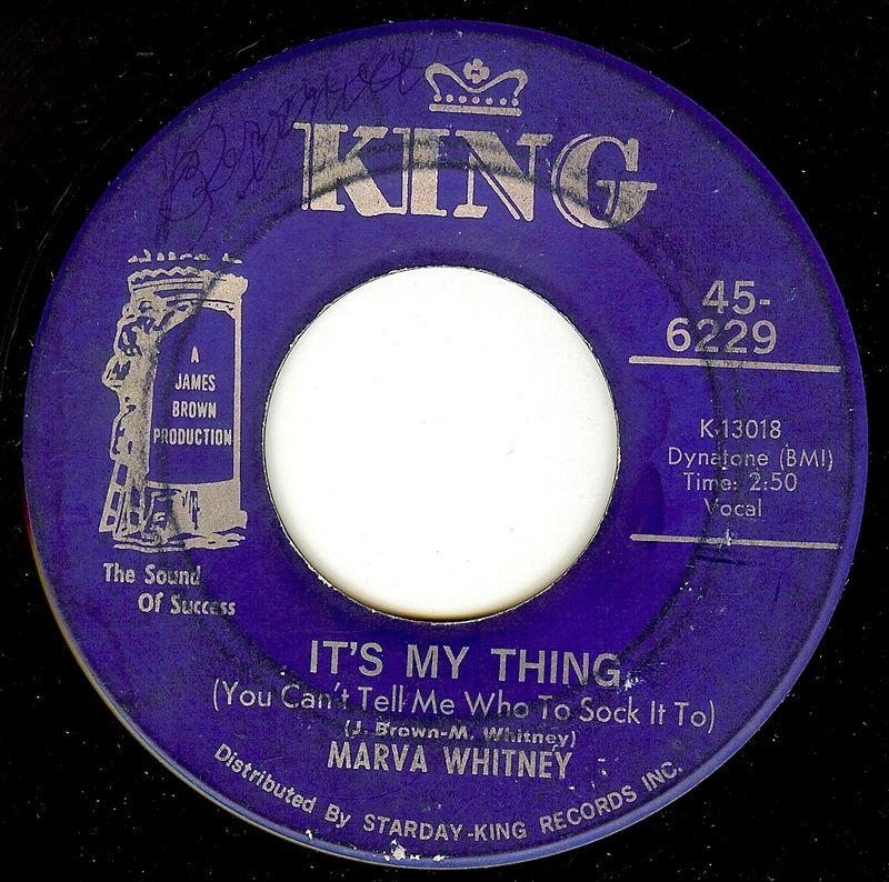 Marva whitney thing