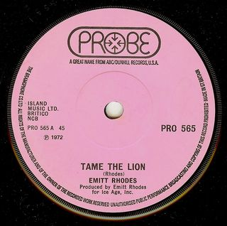 Emitt rhodes tame the lion