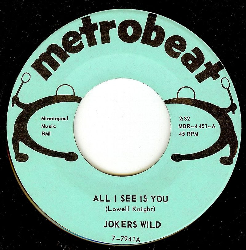 Jokers wild all i see is you
