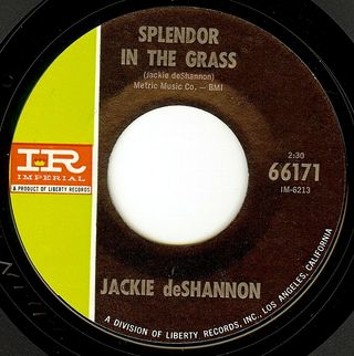 Jackie deshannon splendor in the grass
