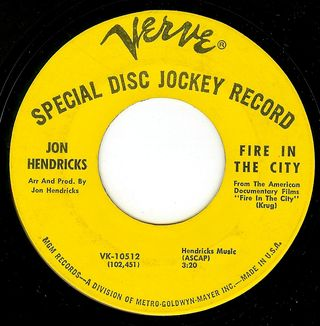 Jon hendricks fire in the city